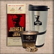 jarhead java coffee and dibella cookie cups