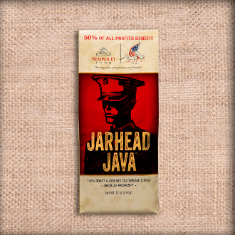 jarhead java coffee by the case